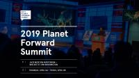 2019 Planet Forward Summit