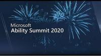 Microsoft Ability Summit 2020