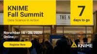 KNIME Fall Summit 2020