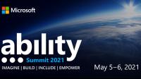 Microsoft Ability Summit 2021