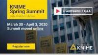 KNIME Virtual Summit 2020 Spring