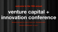MIT Venture Capital & Innovation Conference 2017