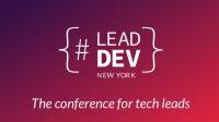 The Lead Developer Conference NYC 2019