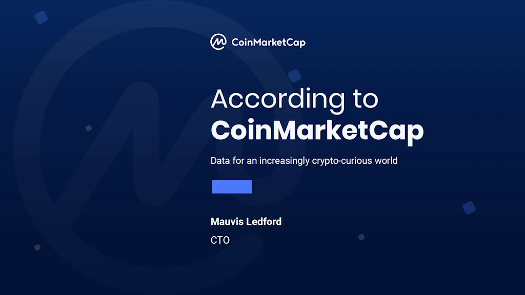 According to CoinMarketCap