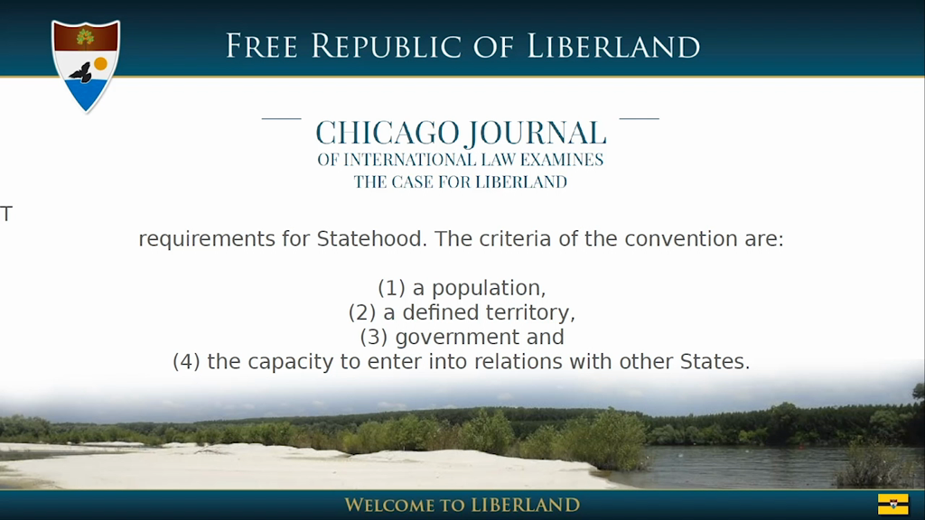 Liberland first decentralized autonomous government running entirely on blockchain