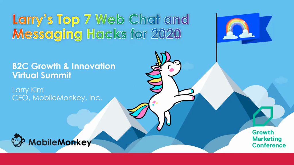 Top 10 Chat Marketing Hacks of 2020: How to Use SMS, Web Chat & Facebook Messenger for Marketing, Sales & Customer Support