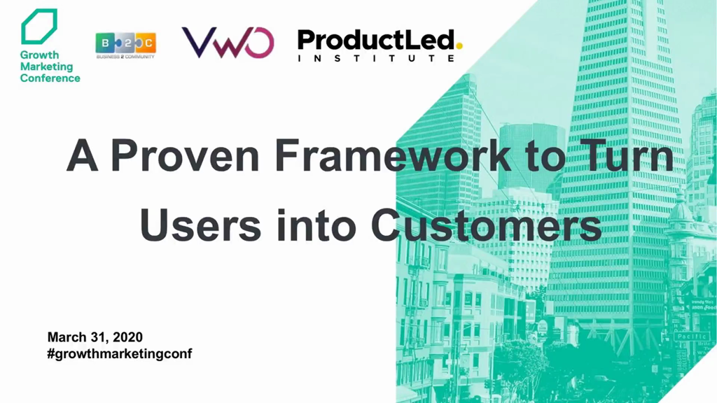A Proven Framework to Turn Users into Customers