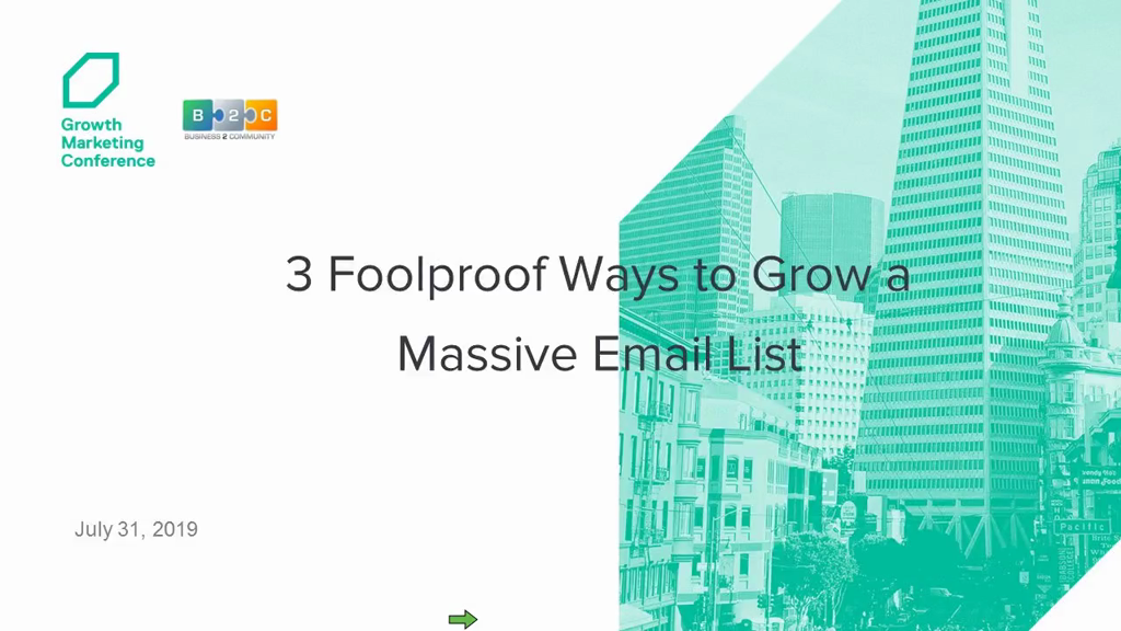 3 Foolproof Ways to Grow a Massive Email List