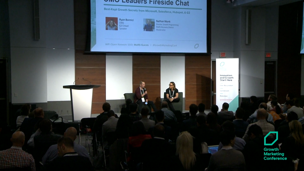 CMO Leaders Fireside Chat: The Best-Kept Growth Secrets from Microsoft, Salesforce, Hubspot, & G2 Crowd