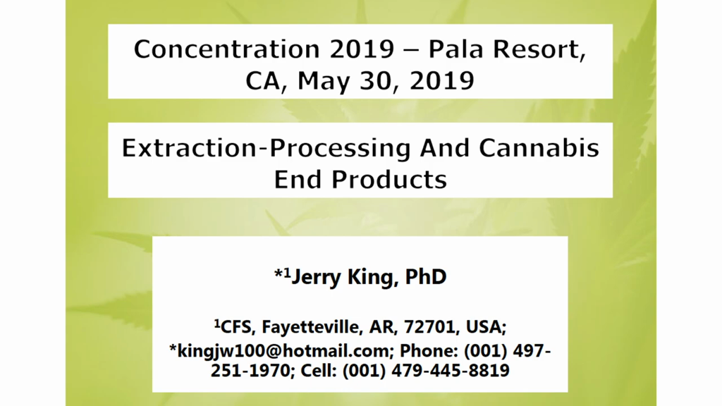 Extraction-Processing & Cannabis End-Products