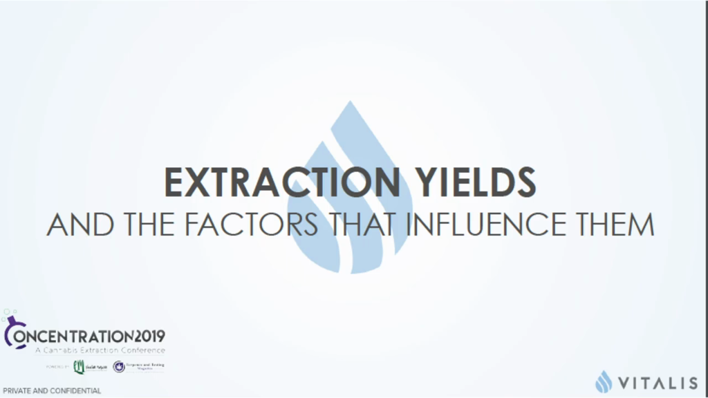 Extraction Yields and the Factors that Influence Them