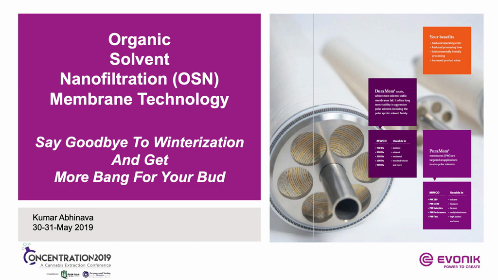 OSN Membranes Give You Bang for Your Bud