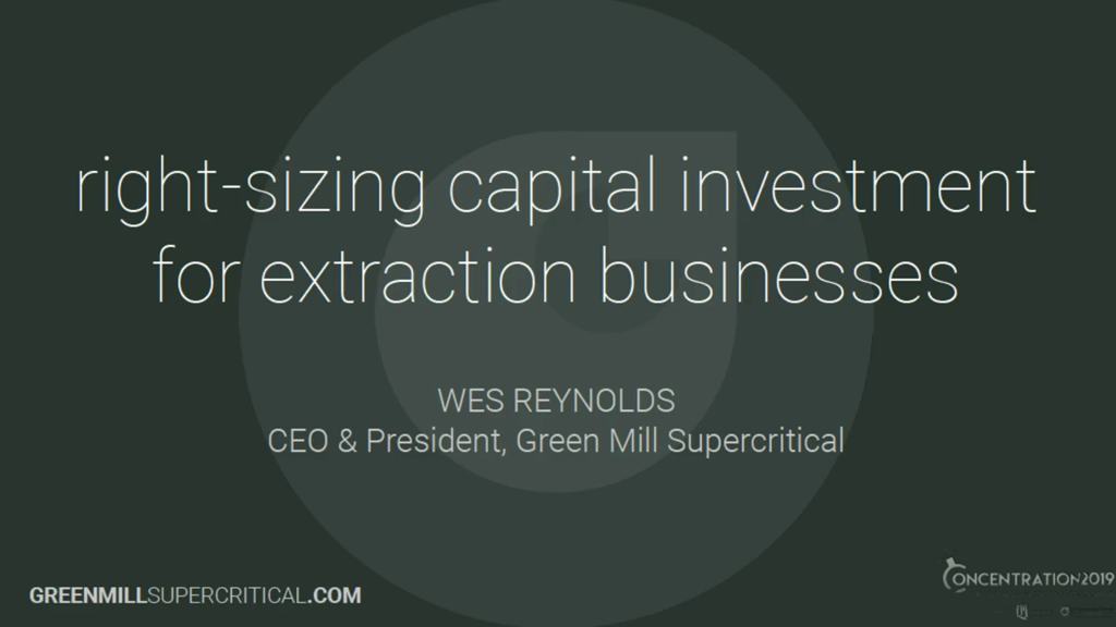 Right-sizing Capital Investment for Extraction Businesses