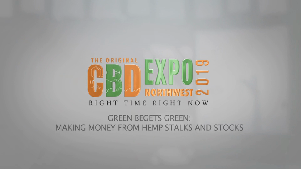 Green Begets Green: Making Money From Hemp Stalks And Stocks