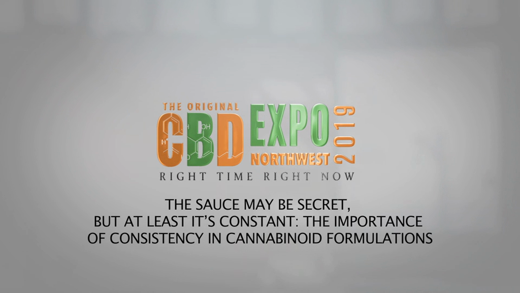 The Sauce May Be Secret, but at Least It's Constant: The Importance of Consistency in Cannabinoid Formulations