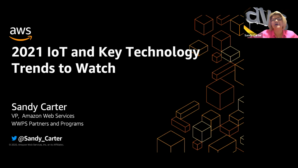 Keynote: IoT and Key Technology Trends to Watch