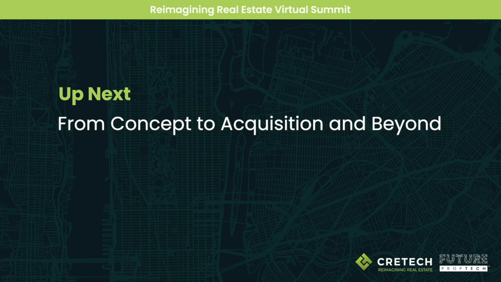 From Concept to Acquisition, and Beyond