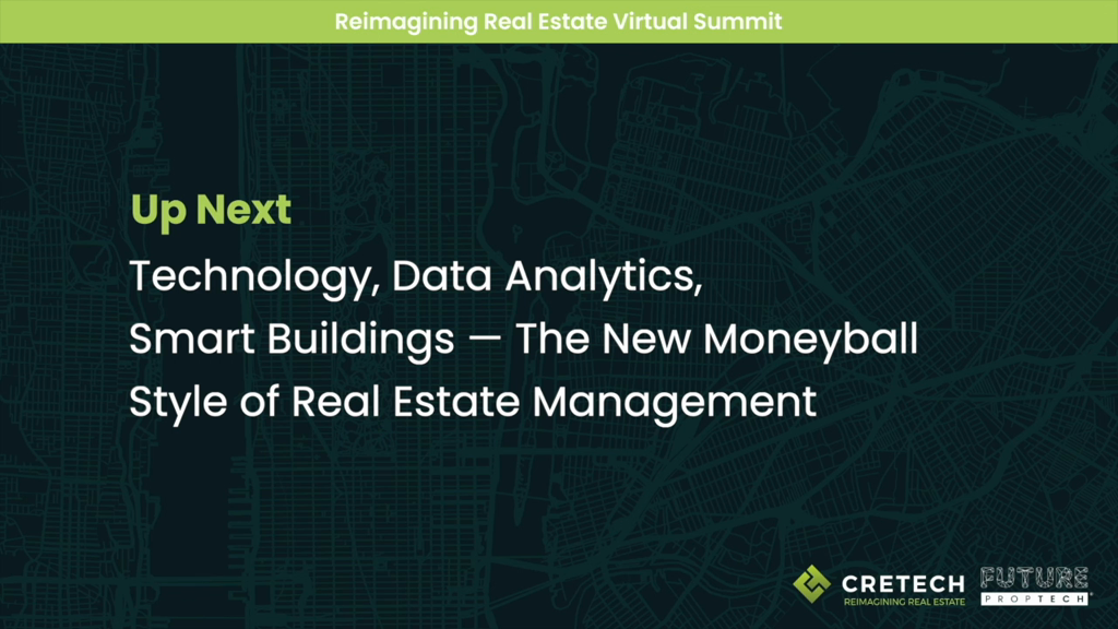 Technology, Data Analytics, Smart Buildings--The New Moneyball Style of Real Estate Management
