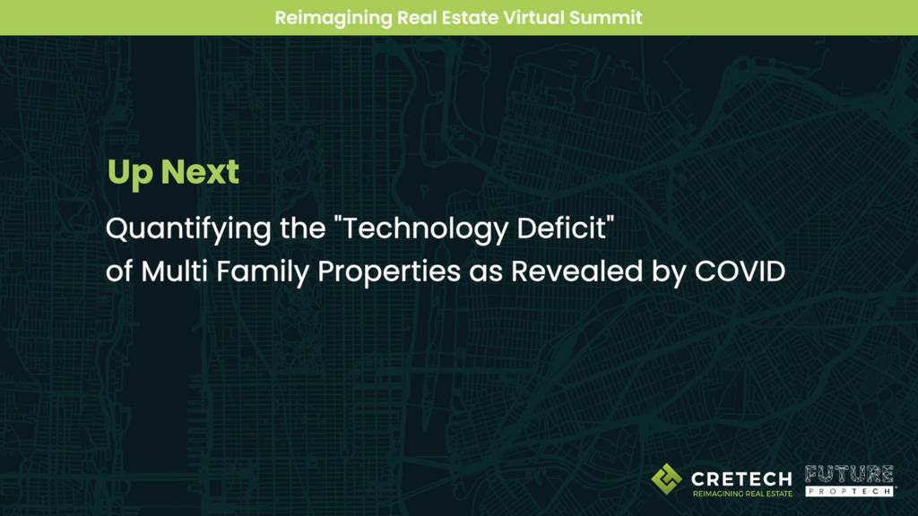 "Quantifying the ""Technology Deficit"" of Multifamily Properties, as Revealed by COVID"