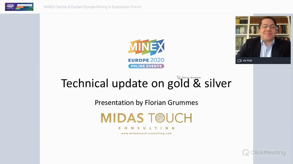 Technical update on gold and silver