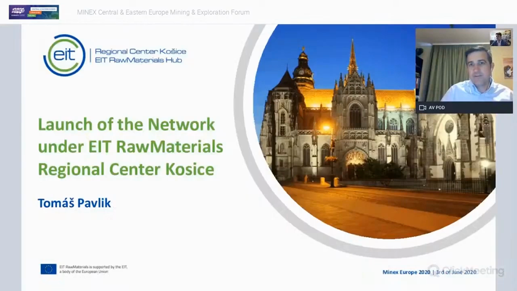 Launch of the Network under EIT RawMaterials Regional Center Kosice