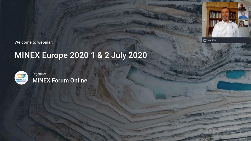 Panel discussion: Is the European Mining Sustainable Under Current ESG Pressures?