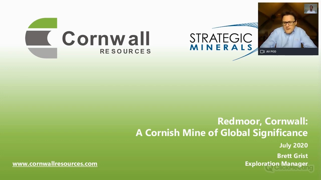 Redmoor, Cornwall: A Cornish Mine of Global Significance