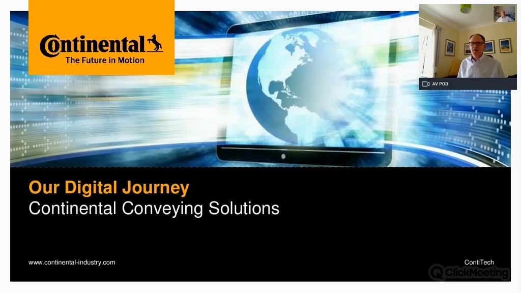 Our Digital Journey - Continental Conveying Solutions