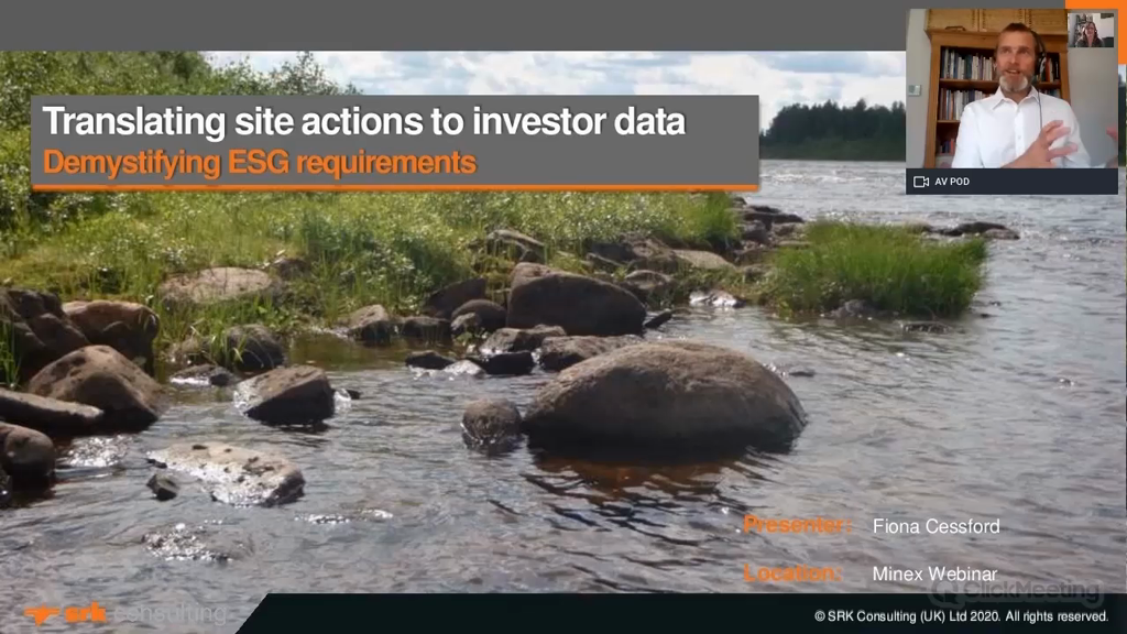 Translating site actions to investor data - Demystifying ESG requirements