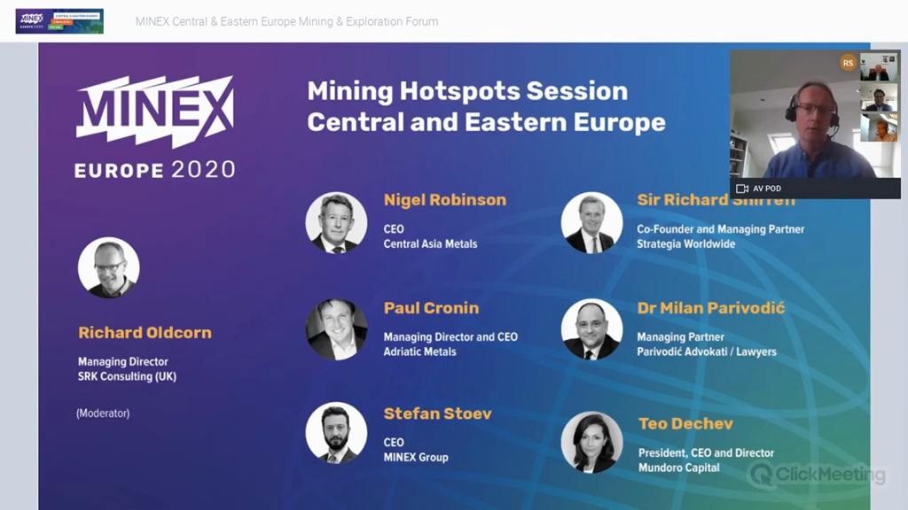 Panel discussion: Impact of COVID-19 on mining industry in CEE Europe