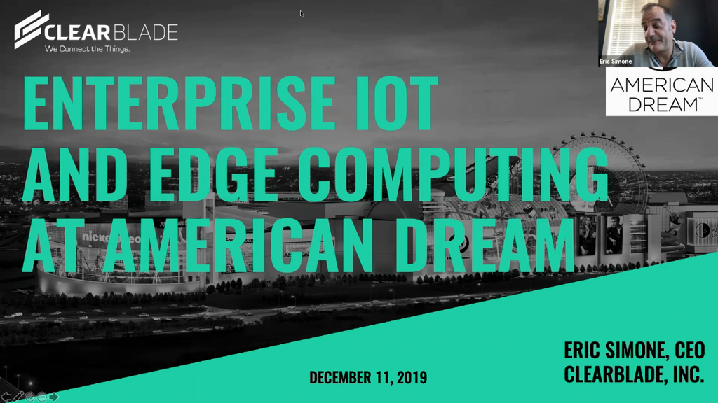 Enterprise IoT Architecture and Edge Computing Creating a Truly Smart Building at American Dream