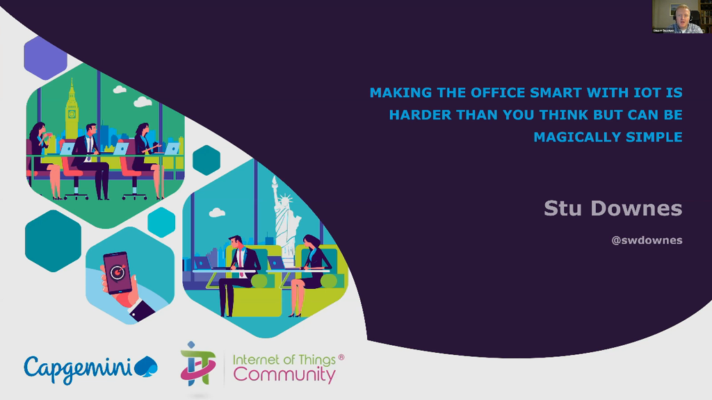 Making the Office Smart with IoT is Harder than You Think But Can be Magically Simple