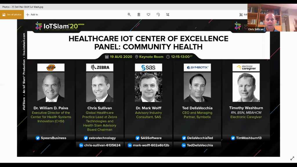 Healthcare IoT Center of Excellence Panel: Community Health