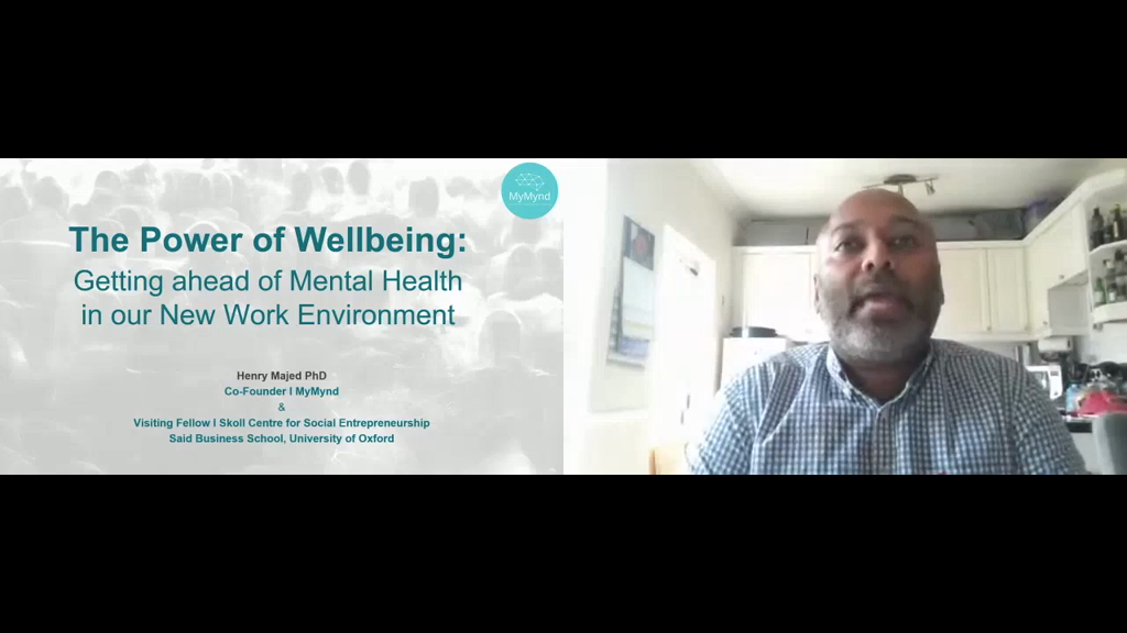 The Power of Wellbeing: Getting Ahead of Mental Health in our New Work Environment