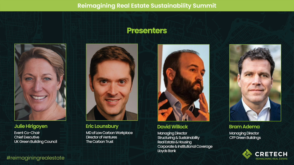 How to Improve the Sustainability of EXISTING Assets