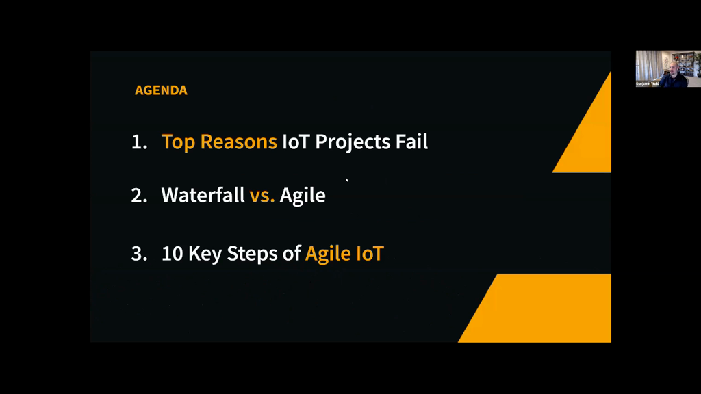 Making the Case for Agile IoT Development