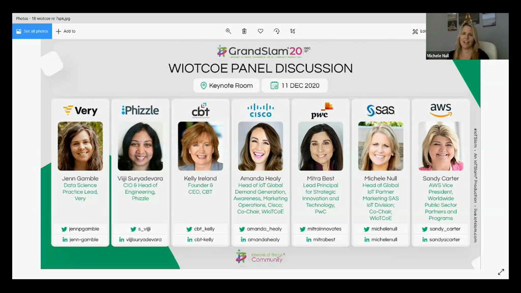 WIoTCoE Panel Discussion