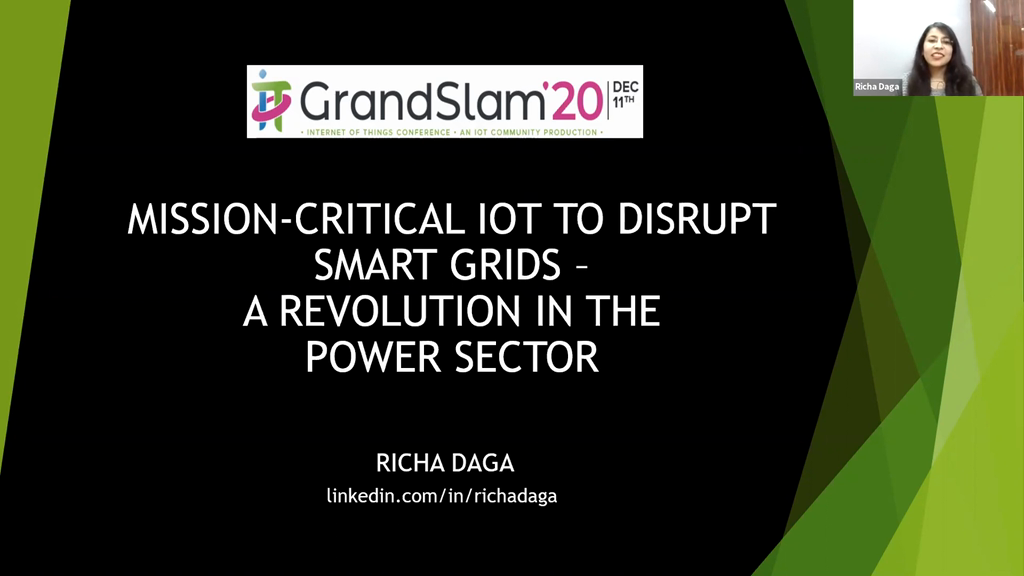 Mission-Critical IoT to disrupt smart grids - A revolution in the power sector
