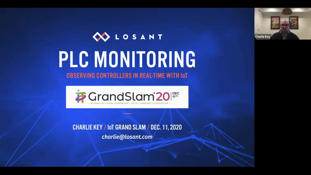 Real-time IIoT PLC Monitoring
