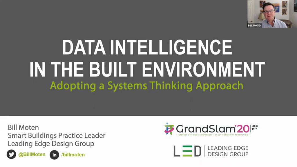 Data Intelligence in the Built Environment: Adopting a Systems Thinking Approach