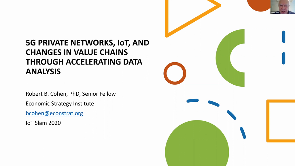 How 5G Communications Supercharges Enterprise Gains from IoT and Sensor Networks