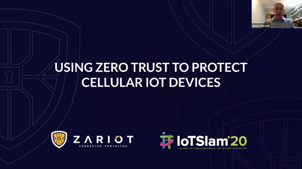 Using Zero Trust to Protect Cellular IoT devices