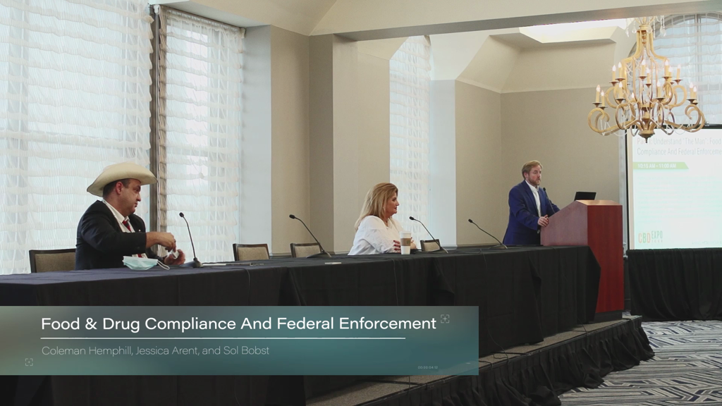 "Part I: Understand ""The Man"": Food & Drug Compliance And Federal Enforcement"