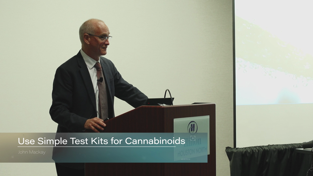 Use Simple Testing Kits for Cannabinoids From Farm to Pharmacy