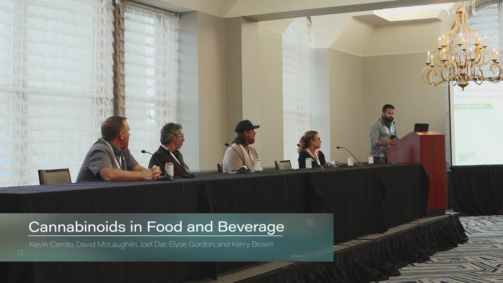Cannabinoids in Food and Beverage: Market Trends, Innovation, and what the future holds