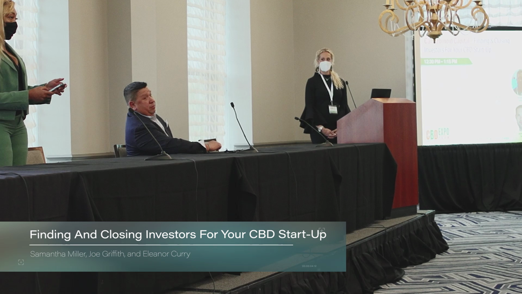 Cannabinoid Capital – Finding And Closing Investors For Your CBD Start-Up