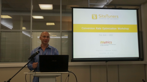A Crash Course in Conversion Rate Optimization – Hands On